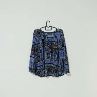 Cotton On Paisley Top