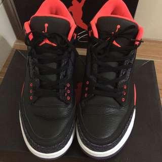 Jordan 3代 9.5