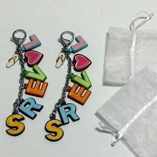 To Clear: 1 Pair of Lovers Bag Charms (New)