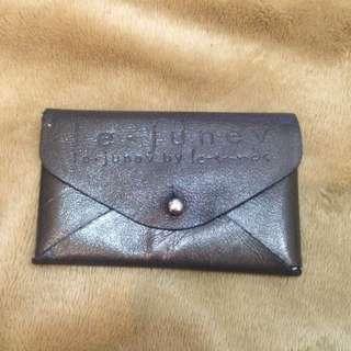韓國設計款真皮名片夾