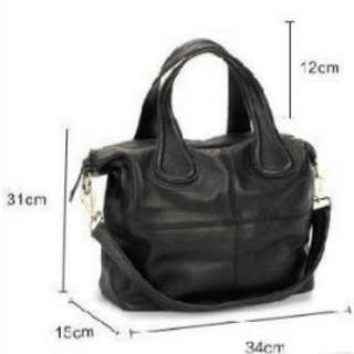 100% Cow Leather Women's Hangbags