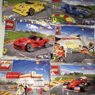 Lego Shell Polybags 2015