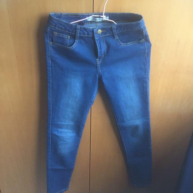 單寧牛仔褲