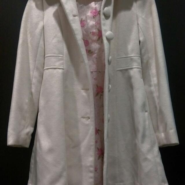 (含運)日本粉紅大衣