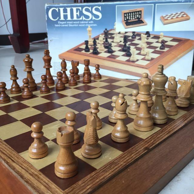 木製西洋棋盤 (免費送人)