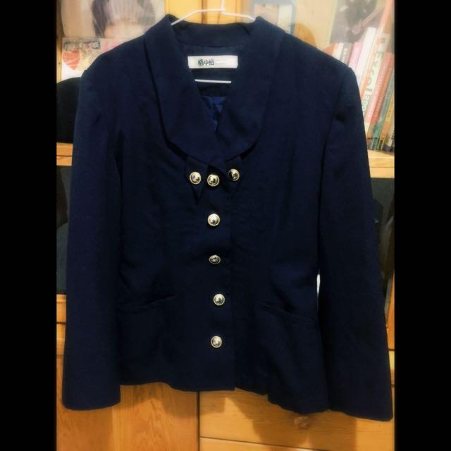 古著 藏藍色 軍裝 外套🇦🇺