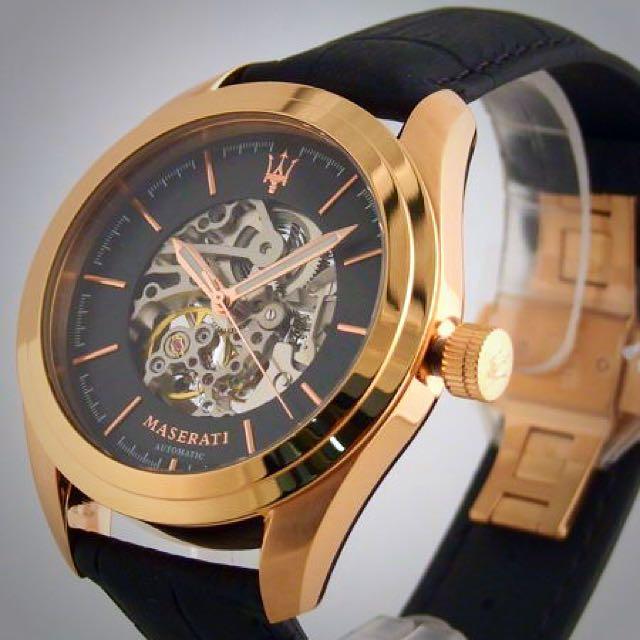 【原廠可驗貨】瑪莎拉蒂 MASERATI 海神錶 經典熱銷款