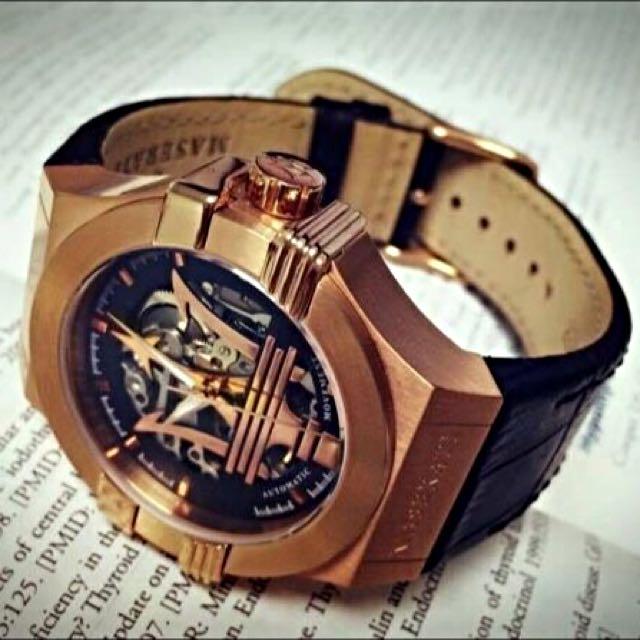 【正廠可驗貨】瑪莎拉蒂 MASERATI 海神錶 熱銷經典款