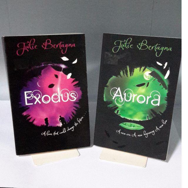 Aurora & Exodus by Julie Bertagna