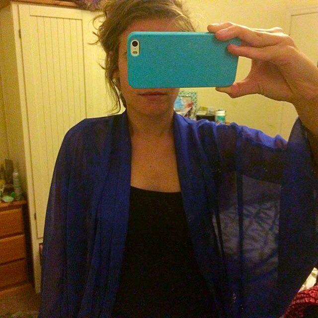 Blue Overshirt