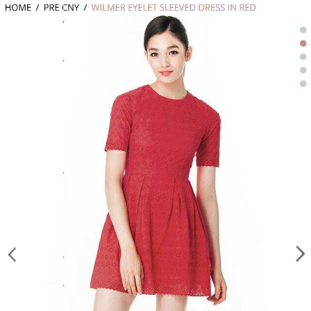 af4f240826c BNWT Ninthcollective Wilmer Eyelet Dress