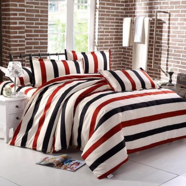 (Chinese New Year Promotion) Velvet Realm High Quality Bed Sheet Sets (fitted  Sheet), Furniture On Carousell