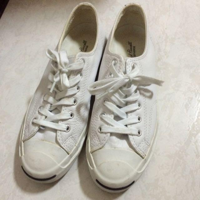 Converse微笑系列平底鞋(皮)