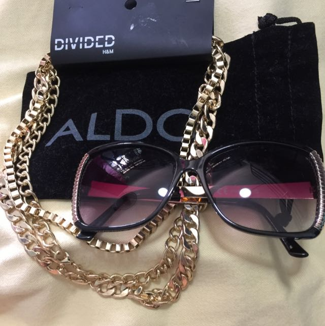 Divided (accessories) Together w/ Aldo Shades (black)