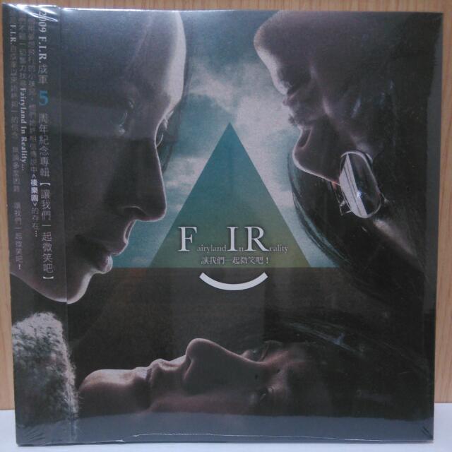 FIR 5週年紀念專輯CD