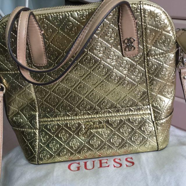 Guess (gold)  Bag