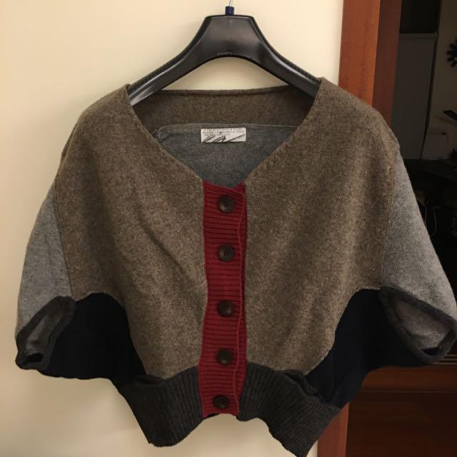 IN羊毛罩衫