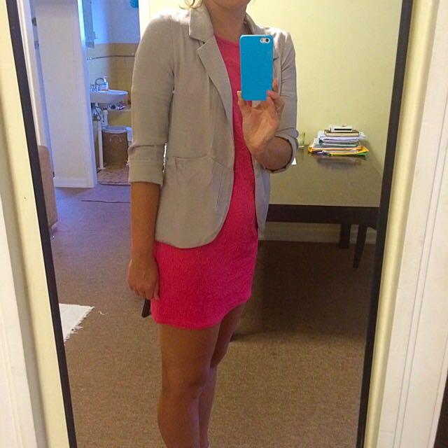 Pink Tshirt Dress