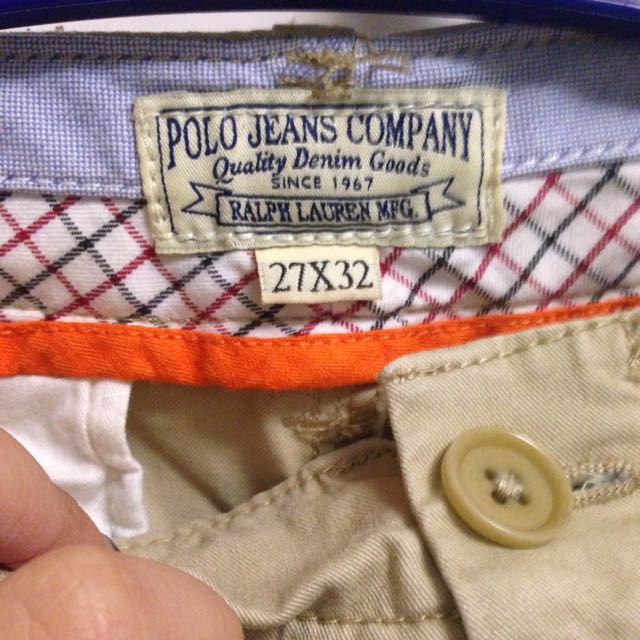 Polo Jeans卡其褲