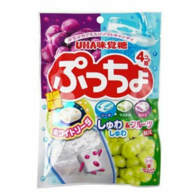 日本UHA味覺糖 期間限定 噗啾綜合軟糖