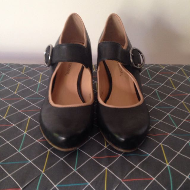 Valeria Grossi Leather Mary Janes
