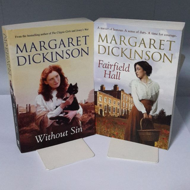Without Sin & Fairfield Hall -Margaret Dickinson