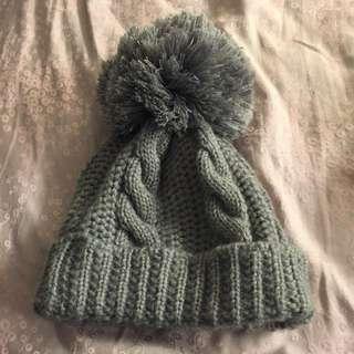 禦寒專用 大毛球 毛帽