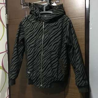 厚 豹紋外套