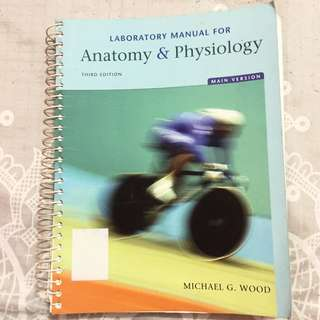 Lab Manual For Anatomy & Physiology