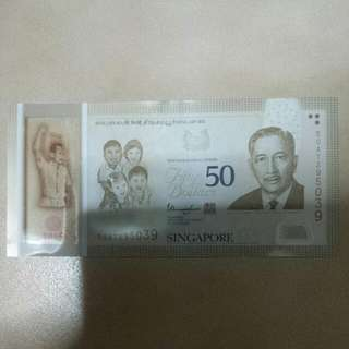 **Selling $50 notes**  #Limited Edition  ~Cash On & Meet Up @ 7 Eleven Eunos MRT Or Paya Lebar MRT~