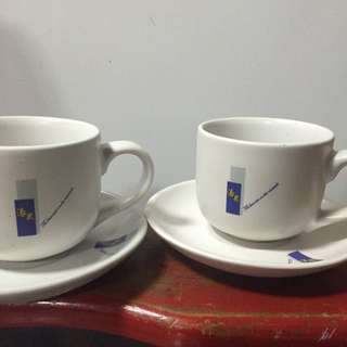 全新青田燒陶瓷茶杯組2組