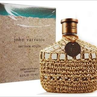John Varvatos 工匠海洋限量版男性香水75ML全新盧亞
