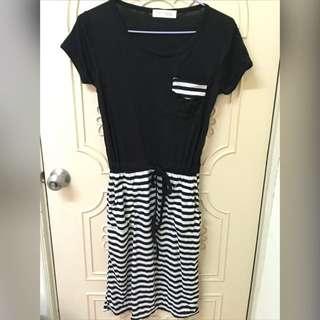 (全新)東京著衣-短袖連身長洋裝👗