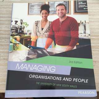 Managing Organisations and people-3rd Edition