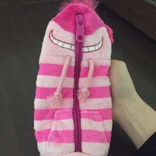 微笑貓筆袋(沒用過)