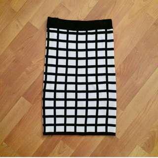 MDS Knitted Pencil Skirt