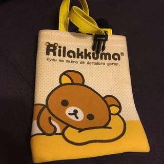 拉拉熊Rilakkuma 手機袋 小袋