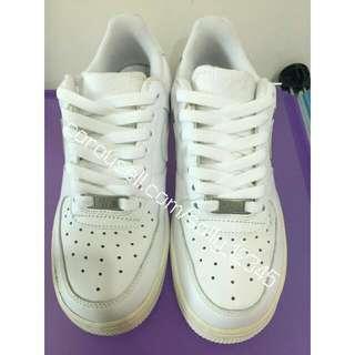 降!!!(正品)Nike Air force 全白 白force 純白 女 運動鞋 球鞋