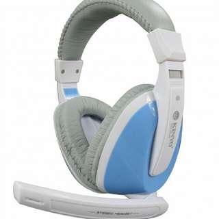 產品型號:EM-3632 產品名稱:全罩式重低音耳機麥克風