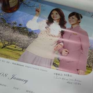 🚚 林志玲2008華航月曆