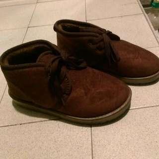 🎉全新🎉 棕色短雪靴