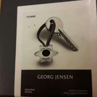 丹麥百年品牌Georg Jensen 鑰匙圈