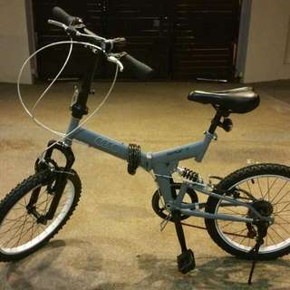 7-Speed foldable bike