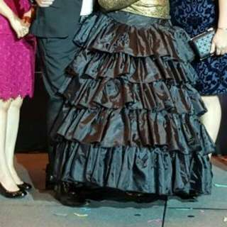 Ballgown Skirt With Can Can - For Rent