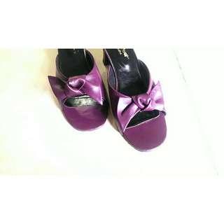 Excellent Purple Sandals