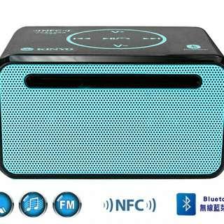 產品型號:BTS-688 產品名稱:NFC藍牙免持讀卡喇叭