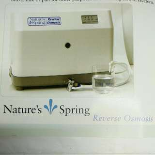 Brand New Reverse Osmosis Water Filtering Machine