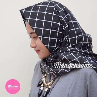 Monochrome Hijab