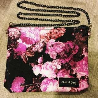 泰國購回全新CCK包 富貴牡丹花 BKK 鏈包 化妝包