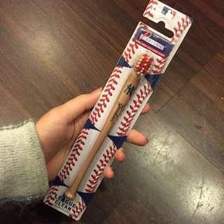 洋基隊Yankees 球棒牙刷